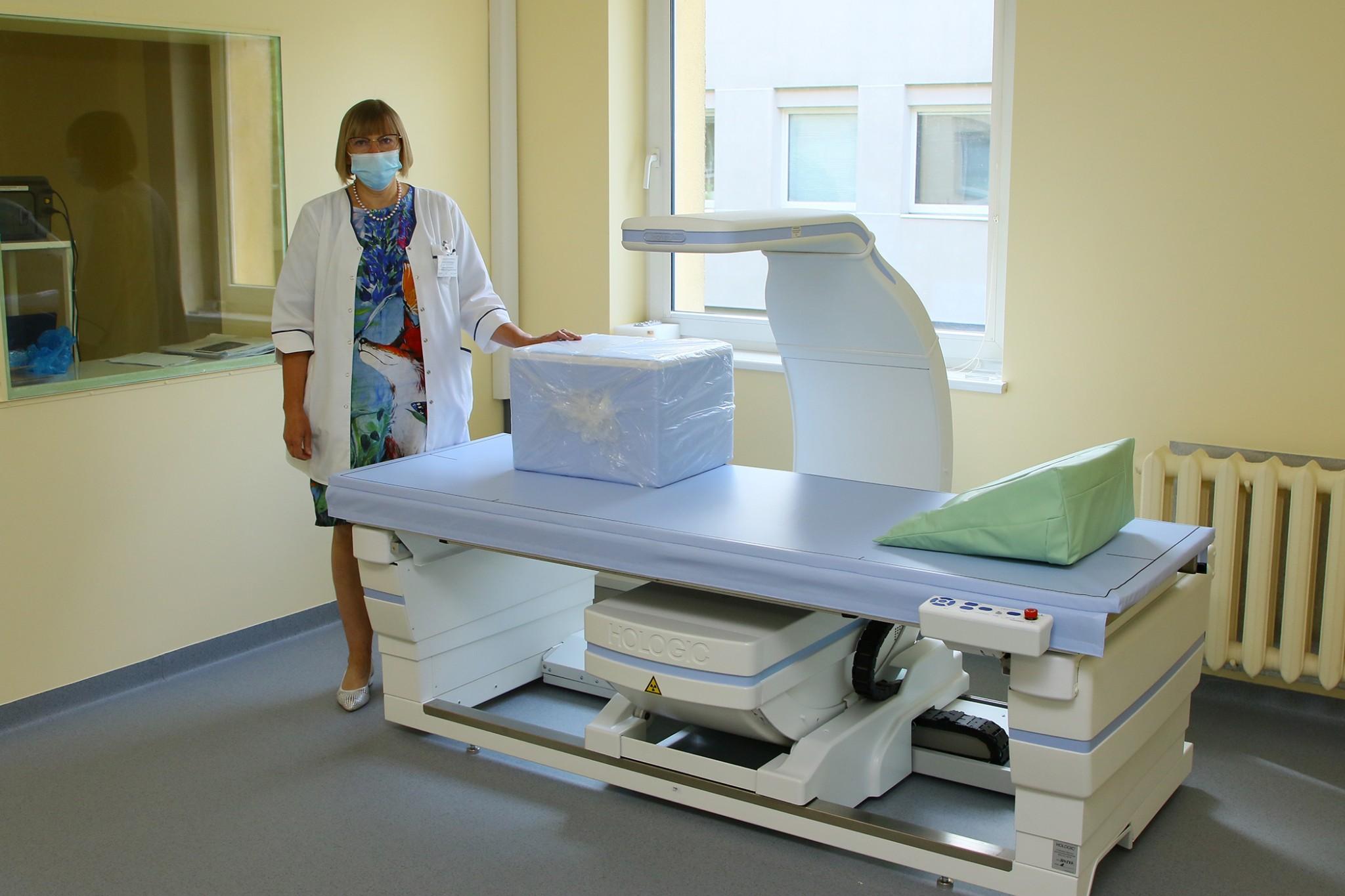 Alytaus ligoninė įsigijo kaulų tankio tyrimo įrangą